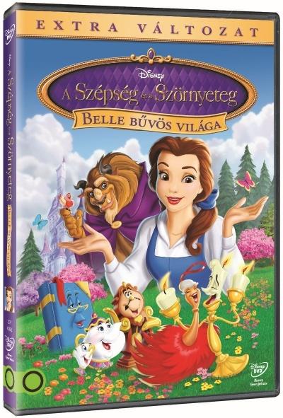 A szépség és a szörnyeteg - Belle bűvös világa - DVD