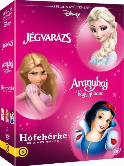 Disney Hősnők 3. - díszdoboz DVD
