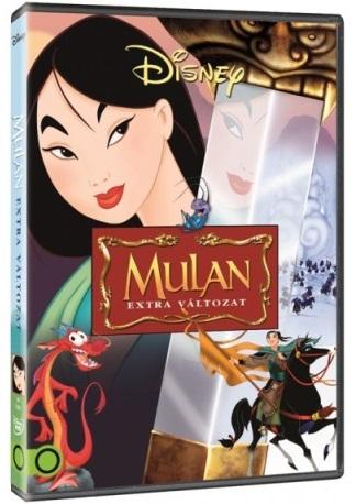 Mulan - extra változat - DVD