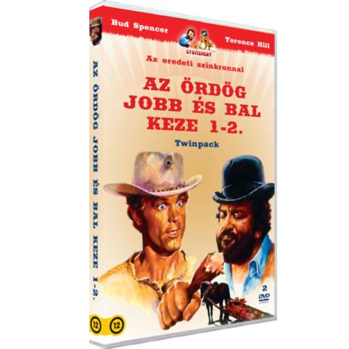 Bud Spencer - Az ördög jobb és bal keze 1-2. / Twinpack - DVD