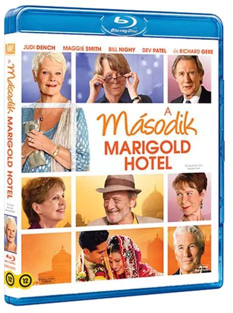 John Madden - Keleti nyugalom - A második Marigold Hotel - Blu-ray