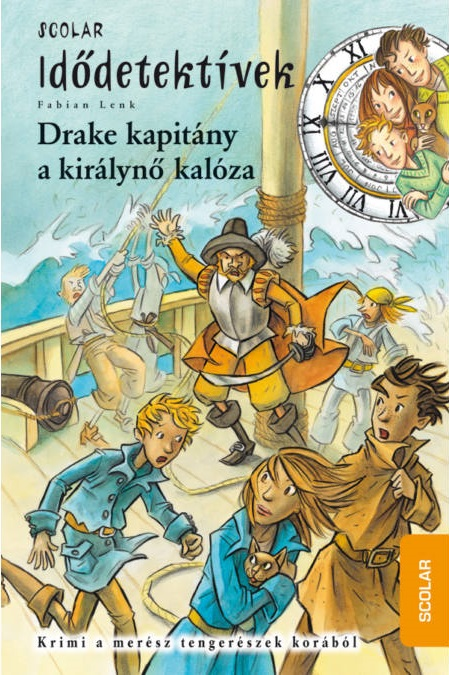 Fabian Lenk - Drake kapitány, a királynő kalóza