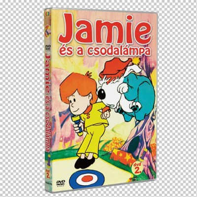 Jamie és a csodalámpa 2. - DVD
