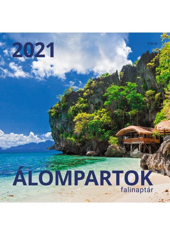 Álompartok falinaptár - 2021