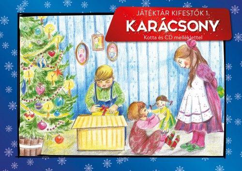 Játéktár kifestők 1. - Karácsony
