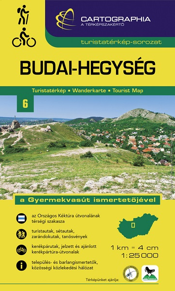 Cartographia - Budai-hegység turistatérkép