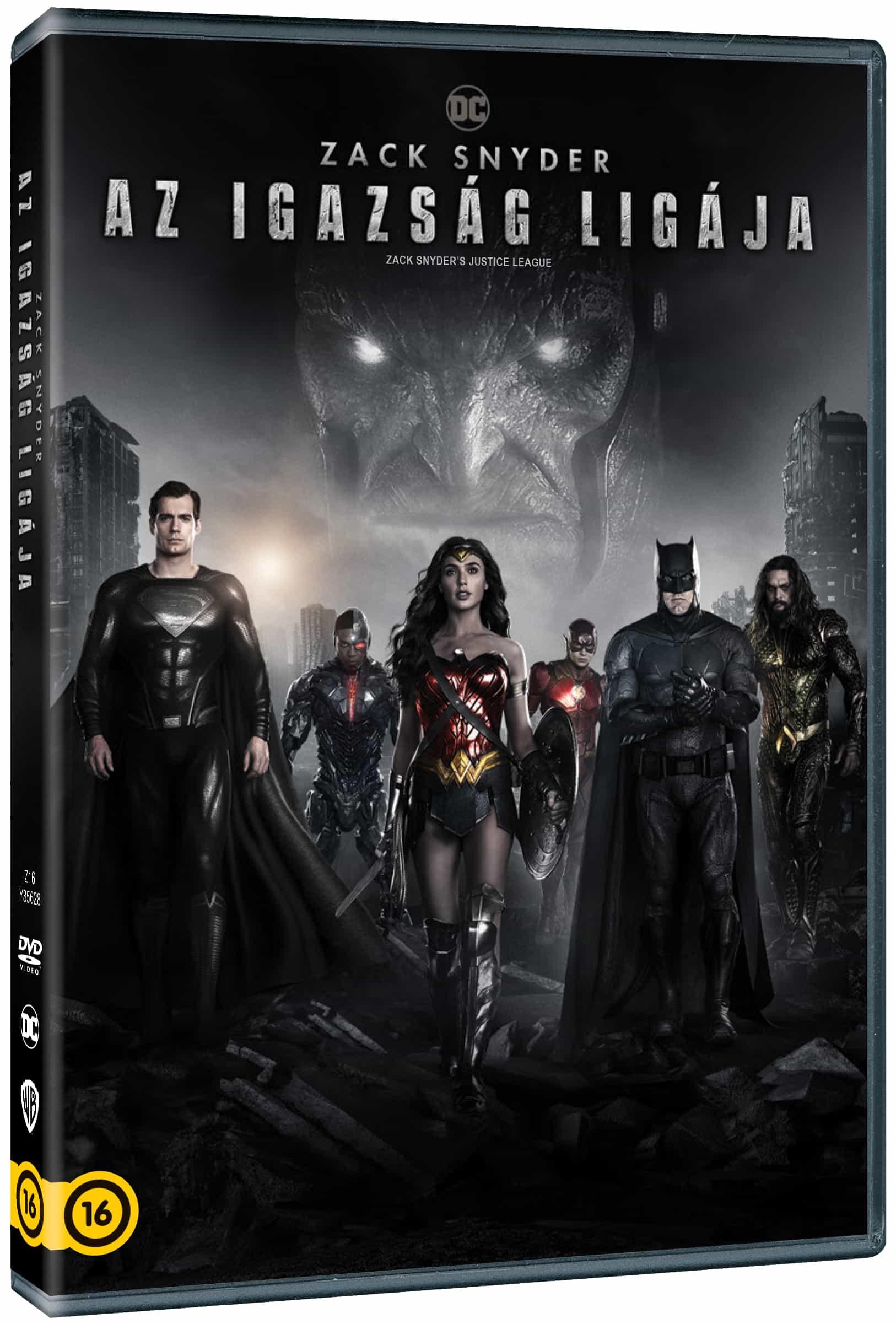 Zack Snyder - Zack Snyder: Az Igazság Ligája (2021) (2 DVD)