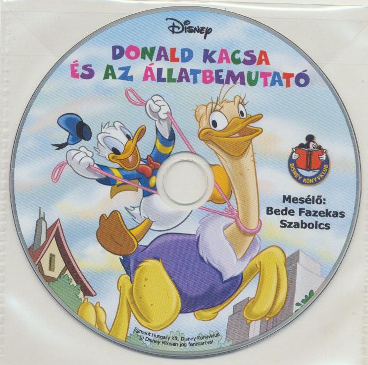 Donald kacsa és az állatbemutató - Hangoskönyv
