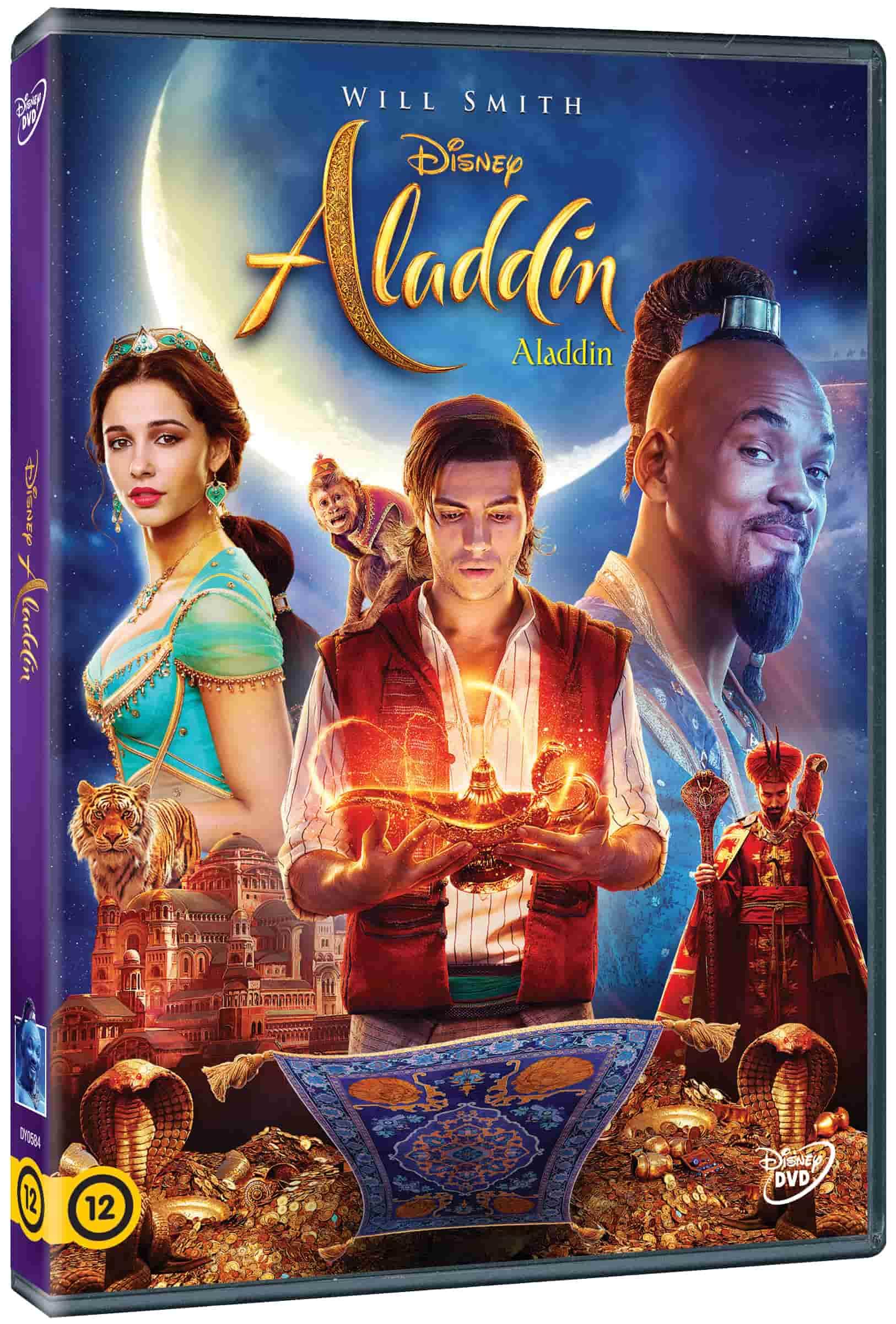Aladdin (2019) - élőszereplős - DVD