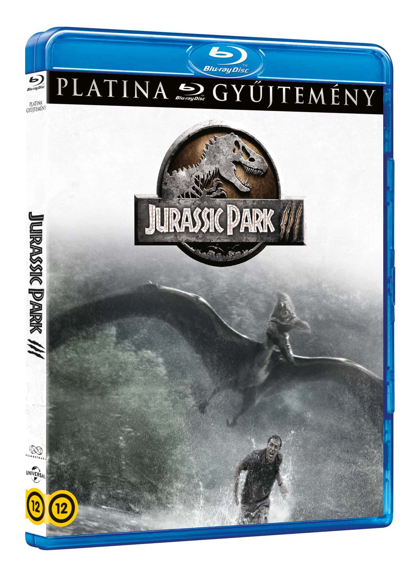 Joe Johnston - Jurassic Park 3. (platina gyűjtemény) - Blu-ray
