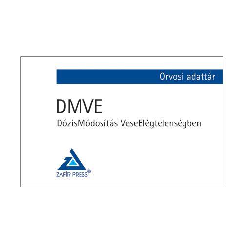 DMVE – DózisMódosítás VeseElégtelenségben - Orvosi adattár