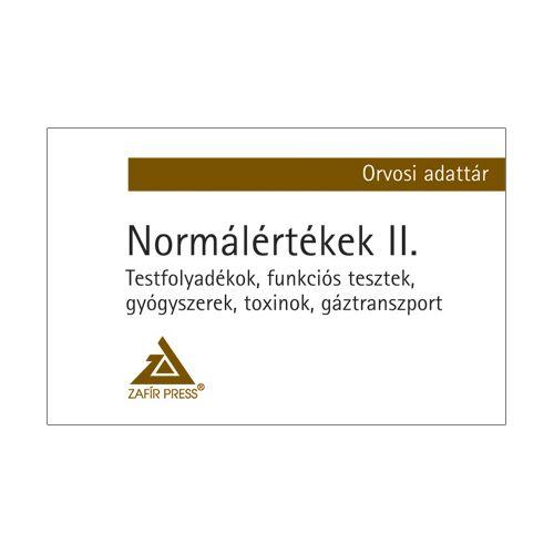 Dr. Michael Jakob - Normálértékek az orvosi gyakorlatban II. kötet - Orvosi adattár