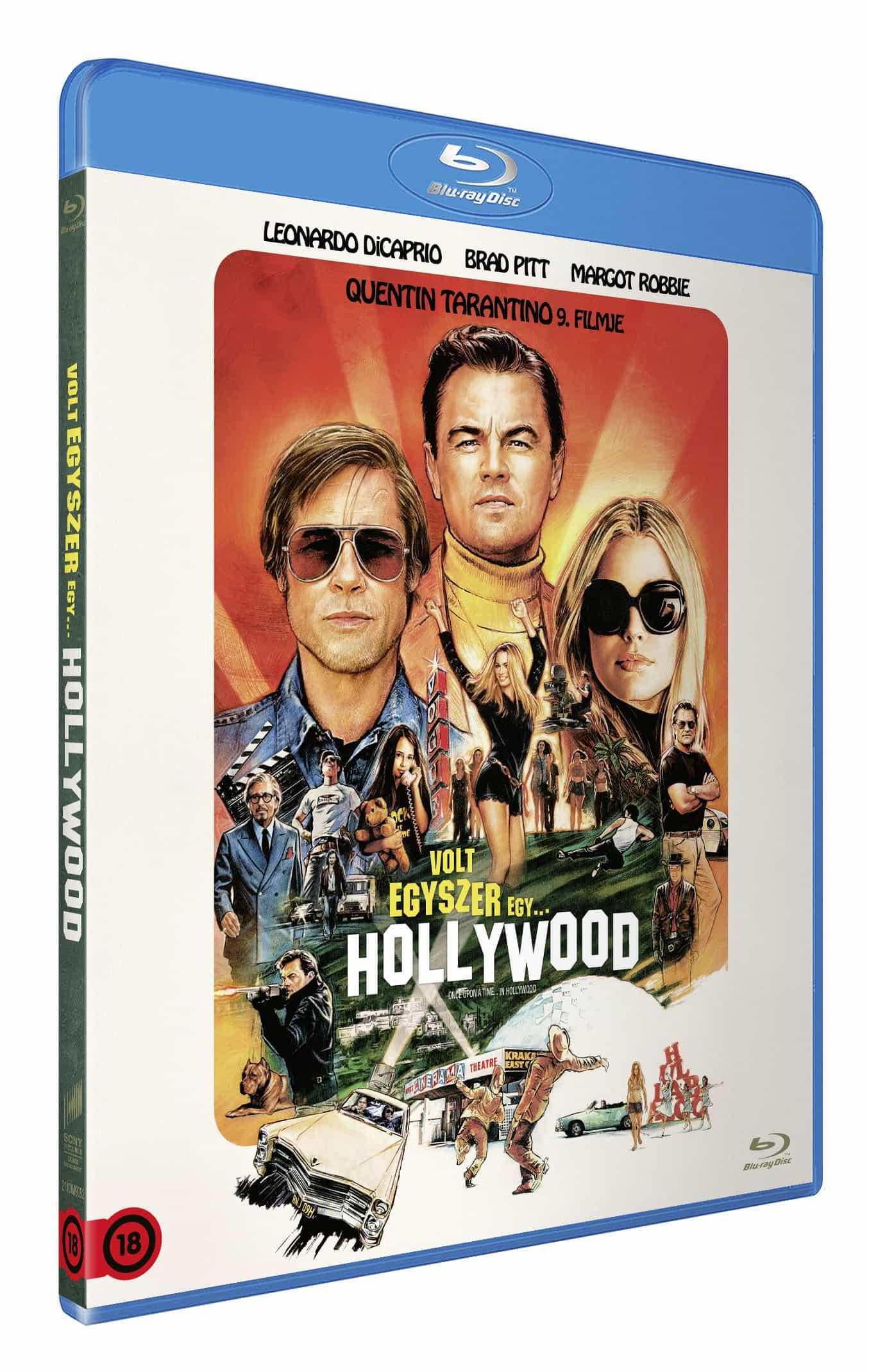 Volt egyszer egy... Hollywood - Blu-ray