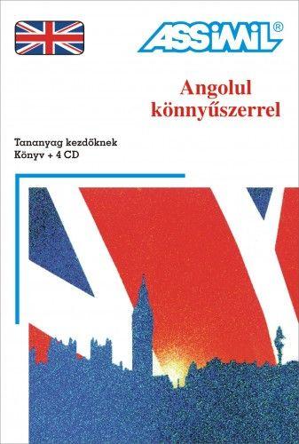 Anthony Bulger - Angolul könnyűszerrel - Tananyag kezdőknek könyv + 4 cd