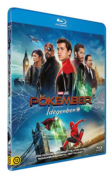 Pókember: Idegenben - Blu-ray