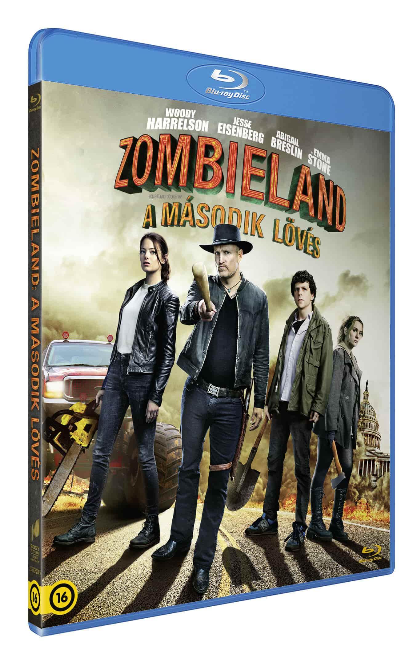 Zombieland: A második lövés - Blu-ray