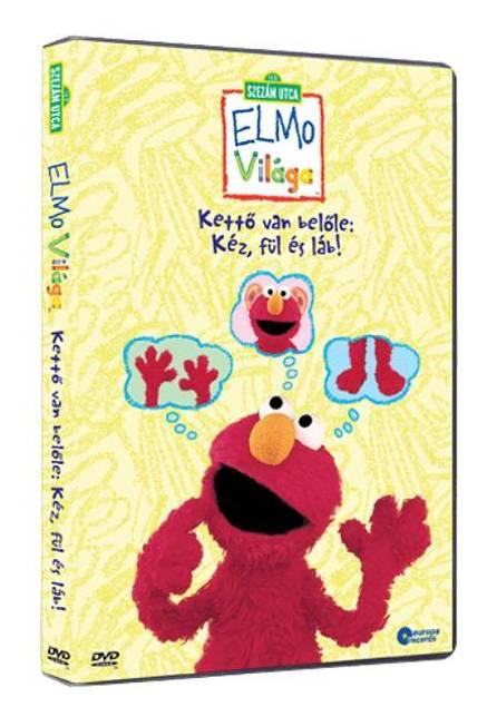 Szezám utca - Kettő van belőle : kéz, fül és láb! - DVD
