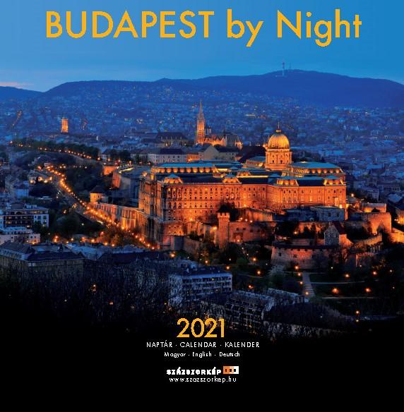 Móra Ferenc - Budapest by Night naptár 2021