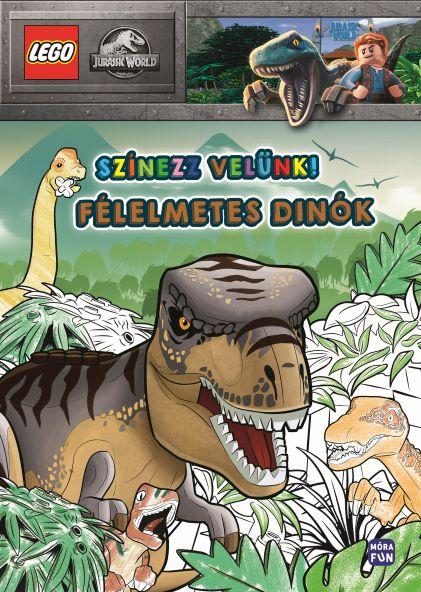 LEGO Jurassic World - Színezz velünk! - Félelmetes dinók