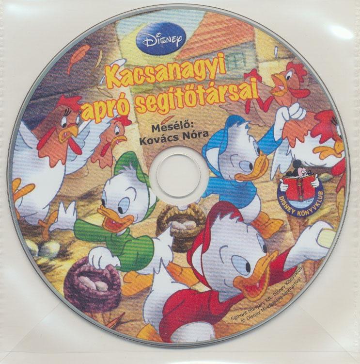 Disney - Kacsanagyi apró segítőtársai - Hangoskönyv