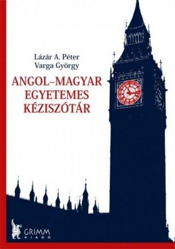 Varga György - Angol-magyar egyetemes kéziszótár