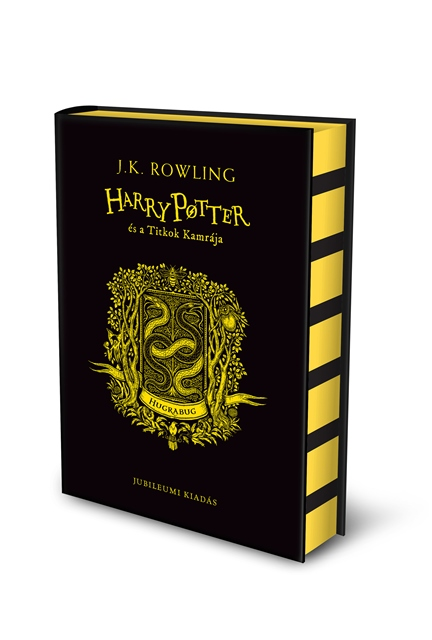 J. K. Rowling - Harry Potter és a Titkok Kamrája - Hugrabugos kiadás