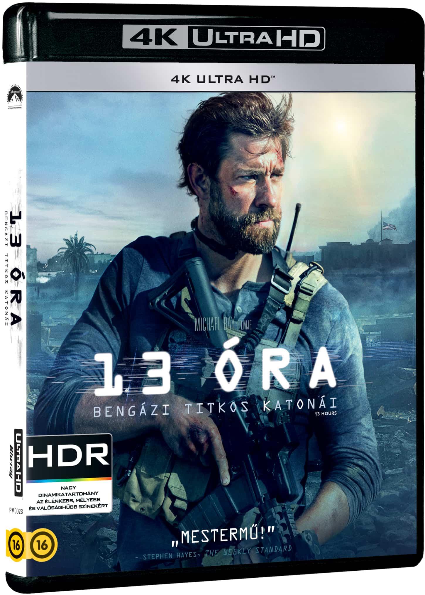13 óra: Bengázi titkos katonái - Blu-ray UHD