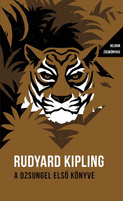 Rudyard Kipling - A dzsungel első könyve - Helikon Zsebkönyvek 101.