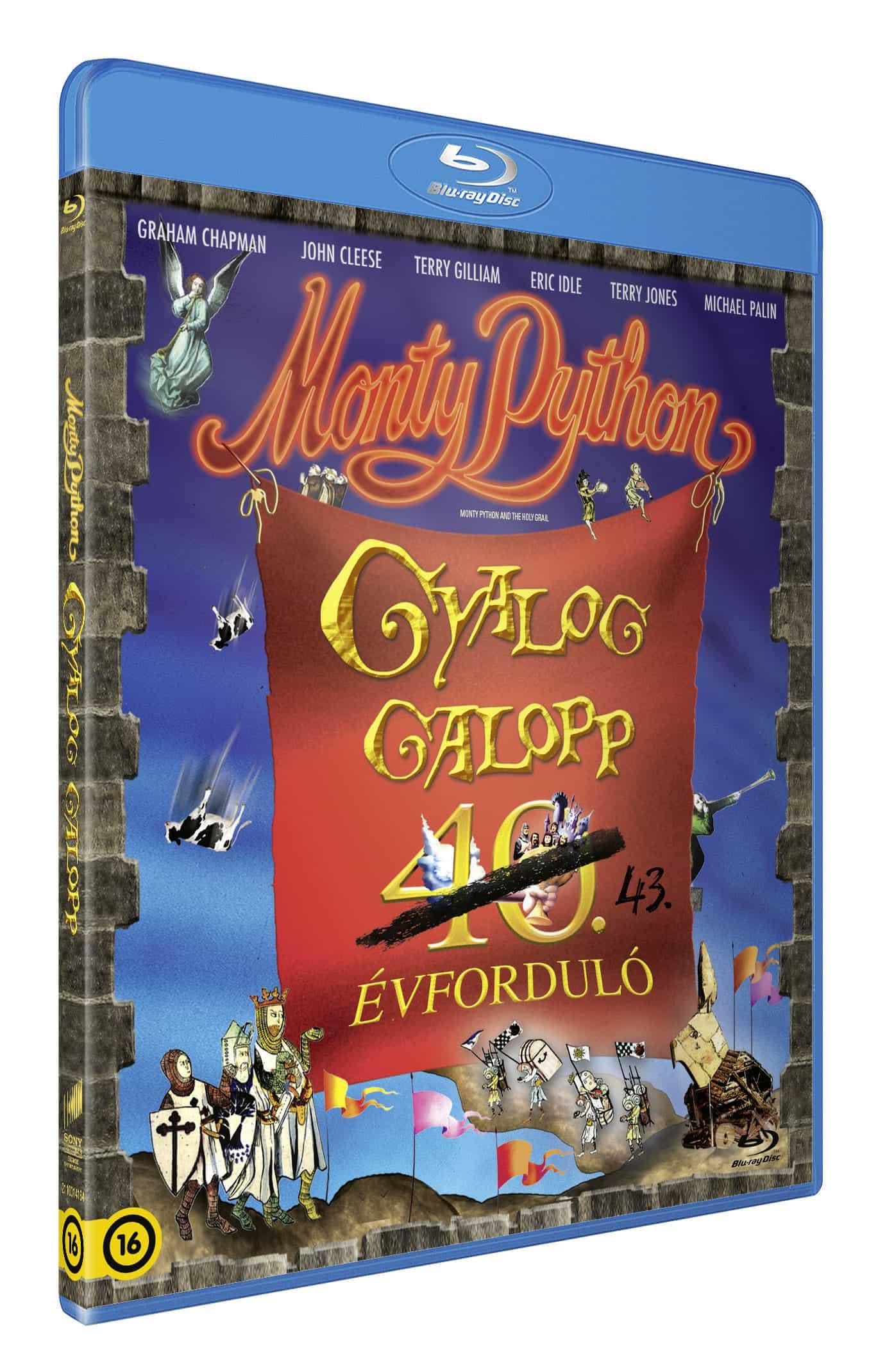 Monty Python - Gyalog galopp - Blu-ray