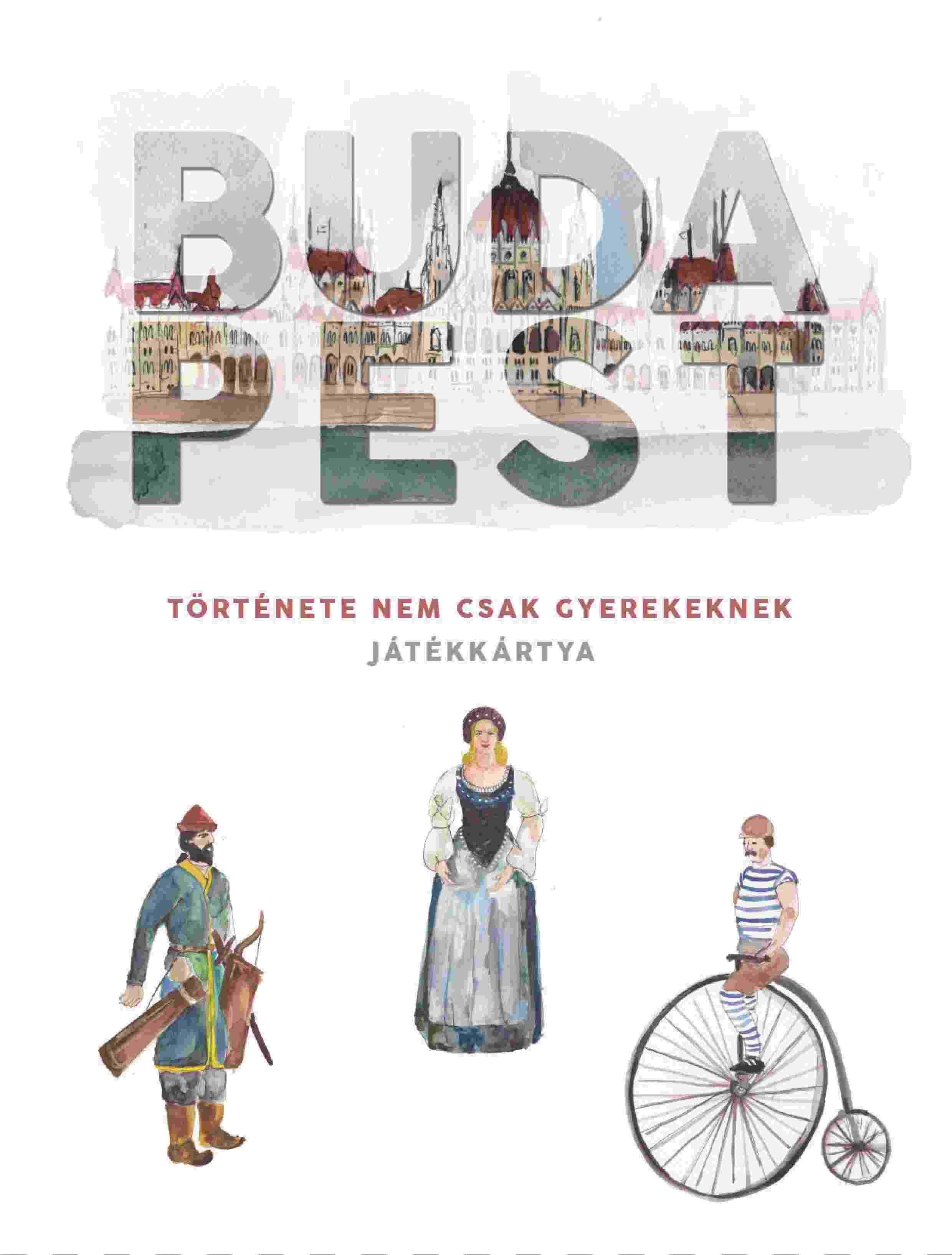 Ócsai Éva - Budapest története játékkártya
