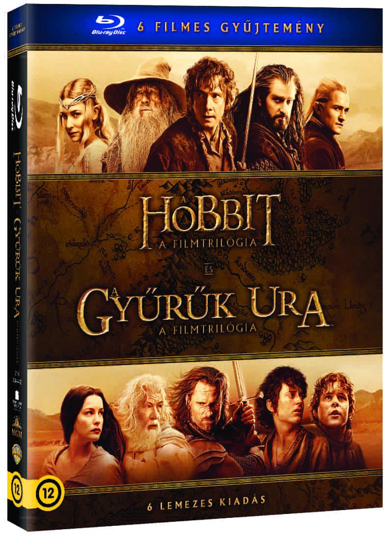Középfölde BD gyűjtemény (6 BD) - Blu-ray