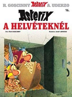 René Goscinny - Asterix 16. - Asterix a Helvéteknél