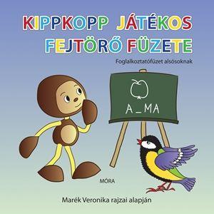 Pelle Kinga - Kippkopp játékos fejtörő füzete