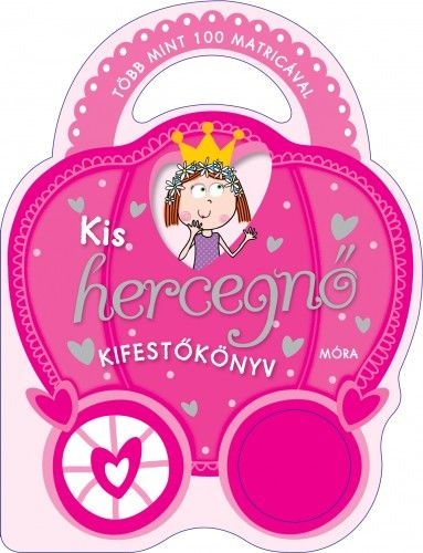 Kis hercegnő kifestőkönyv - több mint 100 matricával