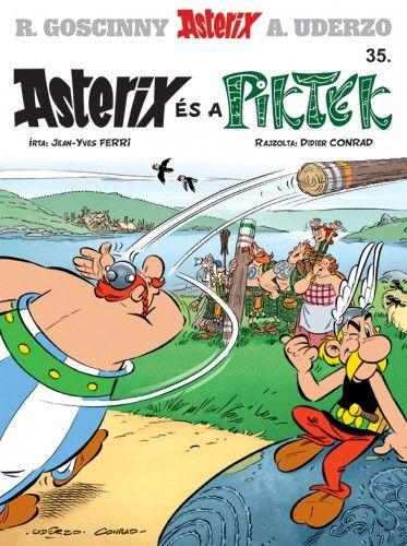 Jean-Yves Ferri - Asterix 35. - Asterix és a Piktek