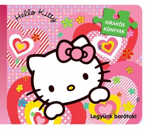 Szilágyiné Márton Andrea - Hello Kitty - Legyünk barátok - Kirakóskönyv