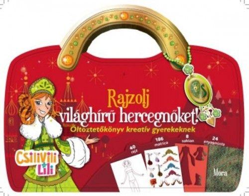 Móra könyvkiadó - Rajzolj világhírű hercegnőket
