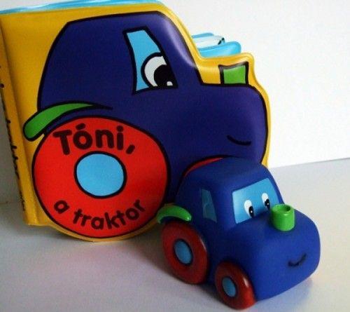 Móra könyvkiadó - Tóni, a traktor