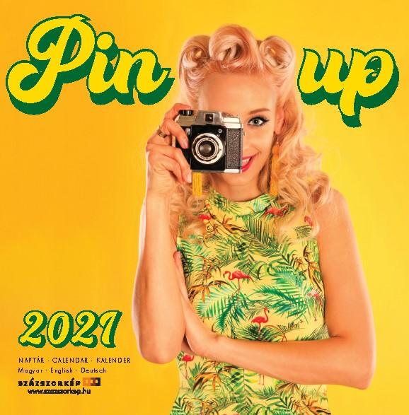 Pin-Up naptár 2021 30x30 cm
