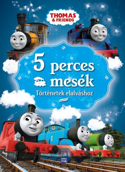 Thomas, a gőzmozdony - 5 perces mesék