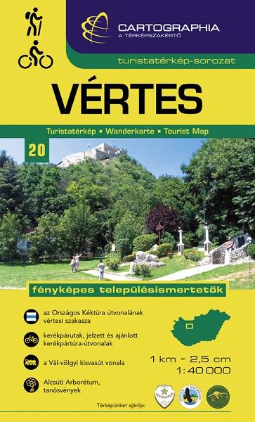 Cartographia - Vértes turistatérkép