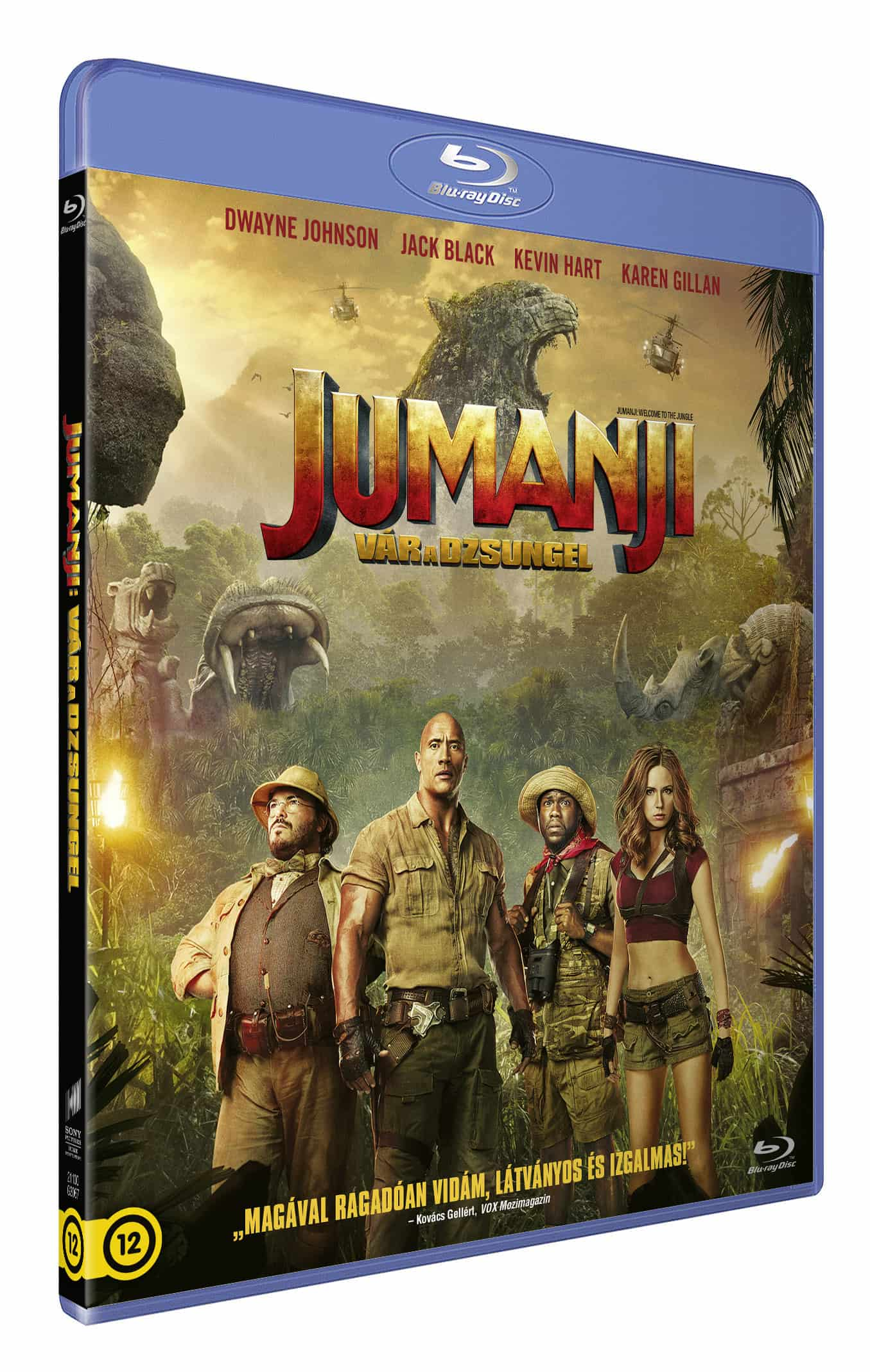 Jumanji - Vár a dzsungel - Blu-ray