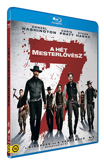 A hét mesterlövész (2016) - Blu-ray