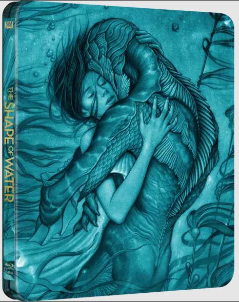 Guillermo Del Toro - A víz érintése - limitált, fémdobozos változat (steelbook) - Blu-ray