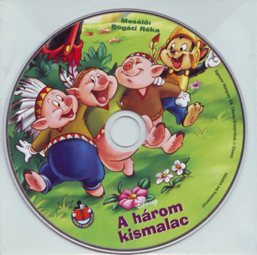 Disney - A három kismalac - Hangoskönyv