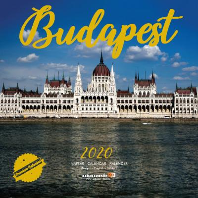 Budapest prémium naptár 2020 - 30x30 cm