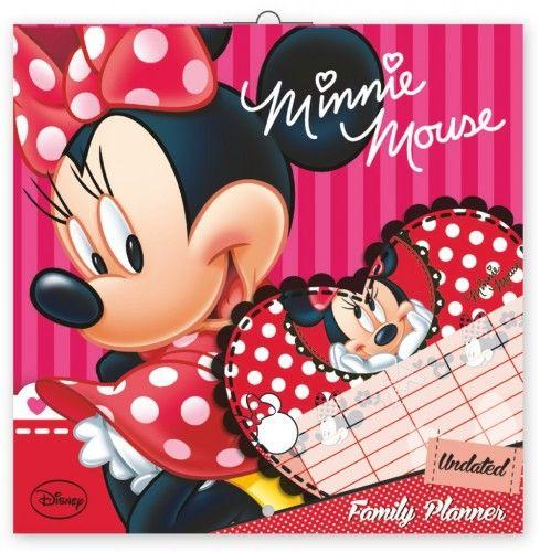 Family Planner Minnie - Naptár