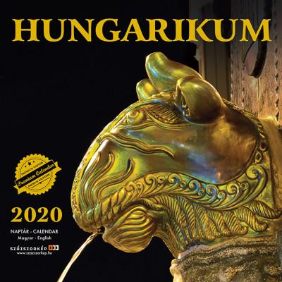 Hungarikum prémium naptár 2020 - 30x30 cm