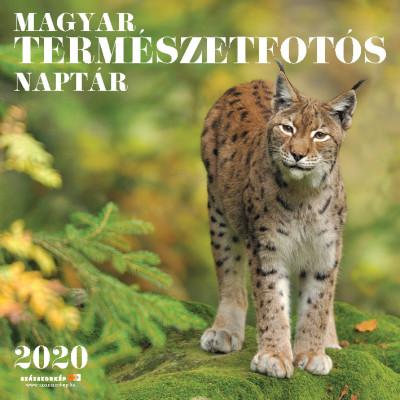 Magyar Természetfotós naptár 30x30 cm - 2020