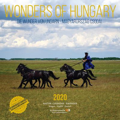 Wonders of Hungary prémium naptár 2020 - 30x30 cm